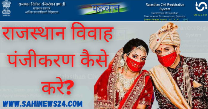 Rajasthan Marriage Certificate Form